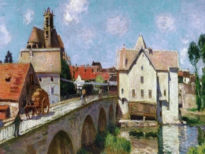 Sisley The Bridge At Moret