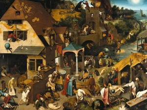 Bruegel The Dutch Proverbs