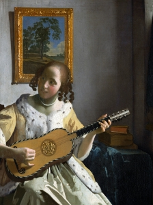 Vermeer The Guitar Player