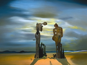 Dali Archaeological Reminiscence Of Millets Angelus