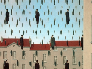 Magritte Golconda