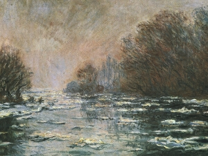 Monet Breakup Of The Ice