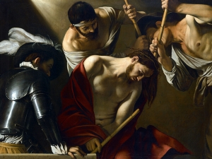 Caravaggio Rowning Of Thorns