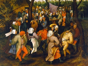 Bruegel Peasant Wedding Dance