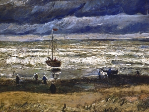 Van Gogh View Of The Sea At Scheveningen