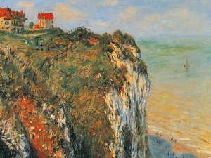 Monet Cliffs At Dieppe