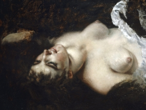 Courbet Akt Famme Nue Or Woman With