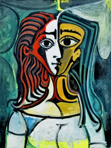Picasso Buste The Femme