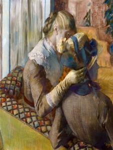 Degas At The Milliners