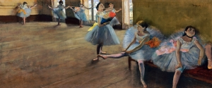 Degas The Dance Class