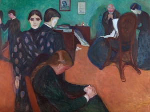 Edvard Munch Death in the Sickroom