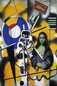 Leger Mona Lisa With The Keys