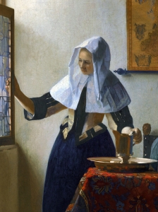 Vermeer Woman With A Water Jug