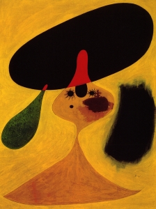 Miro Portrait Of A Yung Girl
