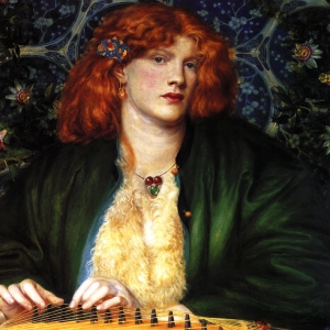Dante Gabriel Rosetti The Bkue Bower