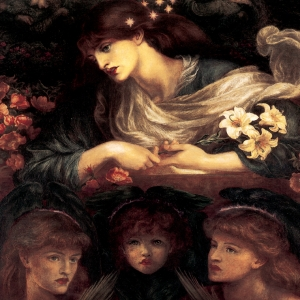 Dante Gabriel Rosetti The Blessed Damozel