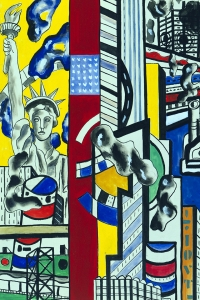 Leger Study For Cinematic Mural