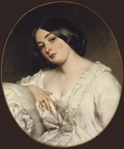 Winterhalter Portrait of a Lady