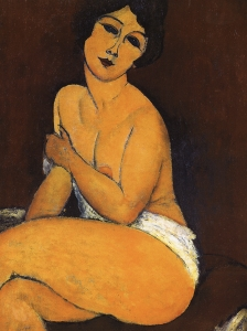 Modigliani Akt Nude On Divan