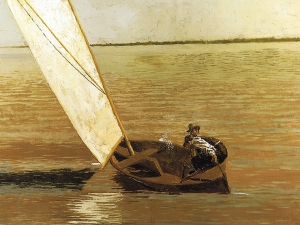 Thomas Eakins Sailing