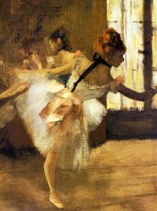Degas Repetition Of  The Dance