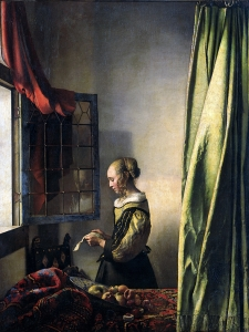 Vermeer  Girl Reading A Letter By An Open Window