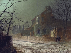 Atkinson Grimshaw The Wharfe Valley