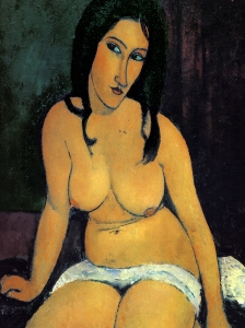 Modigliani Akt Seated Nude