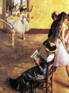 Degas Class The Dance Hall