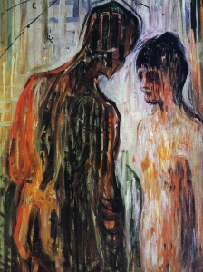 Edvard Munch Cupid and Psyche